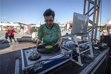 DJ Luiza K - Virada Cultural - 21.06.2015